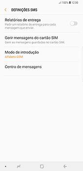 Samsung Galaxy Note 8 - Android Oreo - SMS - Como configurar o centro de mensagens -  8