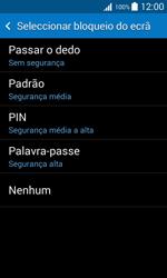 Samsung Galaxy Trend 2 Lite - Segurança - Como ativar o código de bloqueio do ecrã -  6