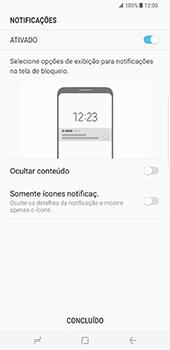 Samsung Galaxy S8 Plus - Segurança - Como ativar o código de bloqueio do ecrã -  11