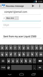 Acer Liquid Z500 - E-mail - envoyer un e-mail - Étape 6