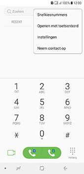 Samsung Galaxy A6 - Voicemail - handmatig instellen - Stap 6