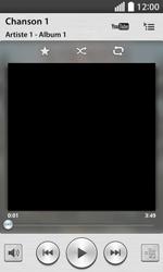 LG F70 - Photos, vidéos, musique - Ecouter de la musique - Étape 5