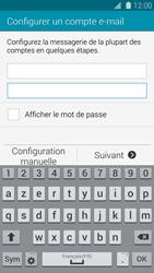 Samsung G901F Galaxy S5 4G+ - E-mail - Configuration manuelle - Étape 6