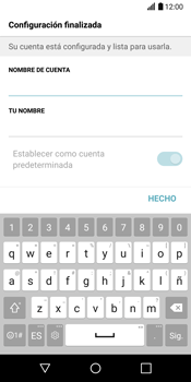 LG G6 - E-mail - Configurar Yahoo! - Paso 11