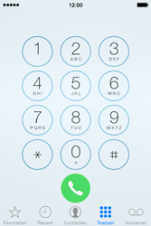 Apple iPhone 4s iOS 8 - Voicemail - Handmatig instellen - Stap 4
