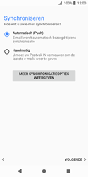 Sony Xperia XZ2 Compact - E-mail - e-mail instellen (outlook) - Stap 14