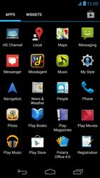 Acer Liquid E1 - Applications - Downloading applications - Step 3