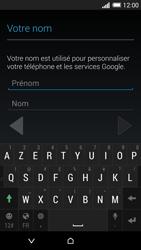 HTC Desire 820 - Premiers pas - Créer un compte - Étape 7