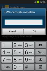 Samsung S6810P Galaxy Fame - SMS - handmatig instellen - Stap 7