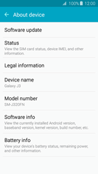 Samsung J320 Galaxy J3 (2016) - Device - Software update - Step 6
