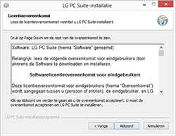 LG Leon 3G (LG-H320) - Software - PC-software installeren - Stap 4