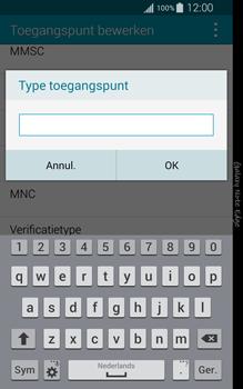 Samsung N915FY Galaxy Note Edge - Internet - Handmatig instellen - Stap 13