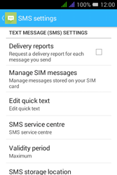 Alcatel Pixi 3 - 3.5 - SMS - Manual configuration - Step 7