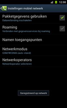 Samsung N7000 Galaxy Note - OS 4 ICS - Bellen - in het buitenland - Stap 11