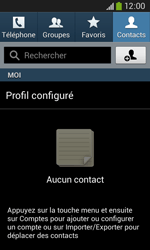 Samsung Galaxy Ace 3 - Contact, Appels, SMS/MMS - Ajouter un contact - Étape 4