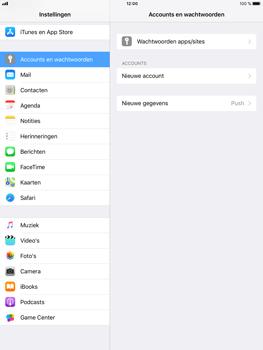 Apple iPad Air 2 - iOS 11 - E-mail - Account instellen (POP3 met SMTP-verificatie) - Stap 4
