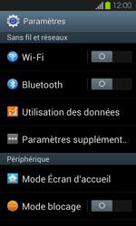 Samsung Galaxy S2 - Internet et connexion - Accéder au réseau Wi-Fi - Étape 4