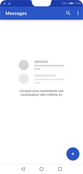 Huawei P20 - Contact, Appels, SMS/MMS - Envoyer un SMS - Étape 3