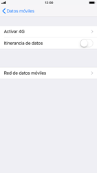 Apple iPhone 6 - iOS 11 - Red - Seleccionar el tipo de red - Paso 5