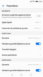 Huawei P8 Lite 2017 - Messagerie vocale - configuration manuelle - Étape 6