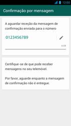 Wiko Darkmoon - Aplicações - Como configurar o WhatsApp -  8