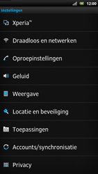Sony LT22i Xperia P - Internet - Uitzetten - Stap 4