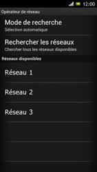 Sony ST26i Xperia J - Réseau - utilisation à l'étranger - Étape 11