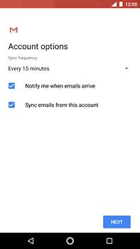 Nokia 6 (2018) - E-mail - Manual configuration POP3 with SMTP verification - Step 21