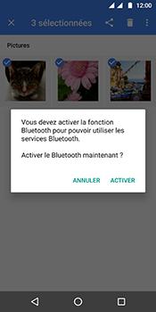 Motorola Moto G6 - Photos, vidéos, musique - Envoyer une photo via Bluetooth - Étape 12