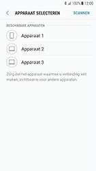 Samsung Galaxy S7 - Android N - Contactgegevens overzetten - delen via Bluetooth - Stap 9