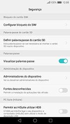 Huawei P9 - Segurança - Como ativar o código PIN do cartão de telemóvel -  6