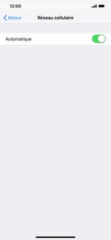 Apple iPhone XS Max - Réseau - Sélection manuelle du réseau - Étape 5