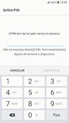 Samsung Galaxy A5 (2017) - Segurança - Como ativar o código de bloqueio do ecrã -  7