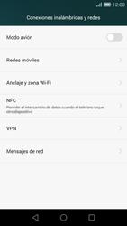Huawei Ascend G7 - Mensajería - Configurar el equipo para mensajes multimedia - Paso 5