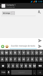 Wiko Stairway - Mensajería - Escribir y enviar un mensaje multimedia - Paso 9
