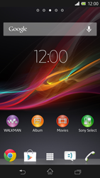 Sony C5303 Xperia SP - Voicemail - Manual configuration - Step 1