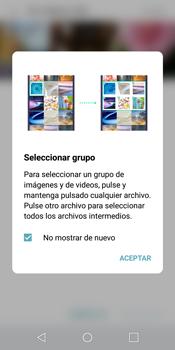 LG Q6 - Bluetooth - Transferir archivos a través de Bluetooth - Paso 6