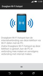 HTC One M8 - WiFi - Mobiele hotspot instellen - Stap 7