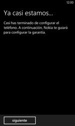 Nokia Lumia 520 - Primeros pasos - Activar el equipo - Paso 27