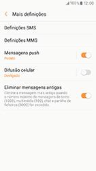 Samsung Galaxy A3 (2017) - SMS - Como configurar o centro de mensagens -  7