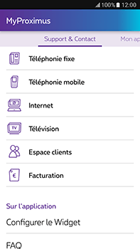 Samsung Galaxy J7 (2016) (J710) - Applications - MyProximus - Étape 23