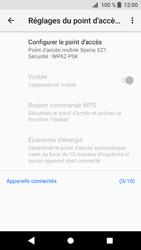 Sony Xperia XZ1 - Internet et connexion - Partager votre connexion en Wi-Fi - Étape 11