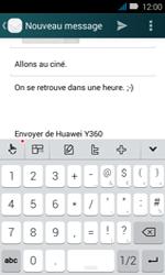 Huawei Y3 - E-mail - envoyer un e-mail - Étape 10