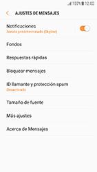 Samsung Galaxy J5 (2017) - Mensajería - Configurar el equipo para mensajes de texto - Paso 6