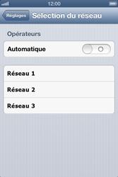 Apple iPhone 4 S - iOS 6 - Réseau - utilisation à l'étranger - Étape 8