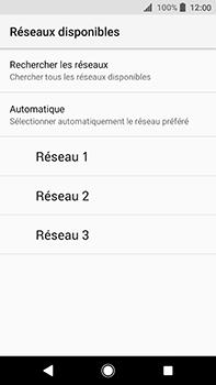 Sony Xperia XA2 Ultra - Réseau - Sélection manuelle du réseau - Étape 9