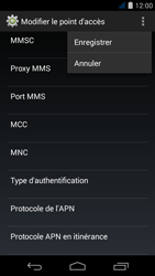 Acer Liquid Jade S - Internet - Configuration manuelle - Étape 18