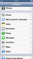 Apple iPhone 5 - MMS - Manual configuration - Step 11