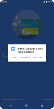 Sony Xperia XZ3 - E-mail - e-mail instellen (outlook) - Stap 11