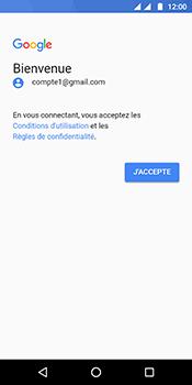 Motorola Moto G6 - E-mails - Ajouter ou modifier votre compte Gmail - Étape 10